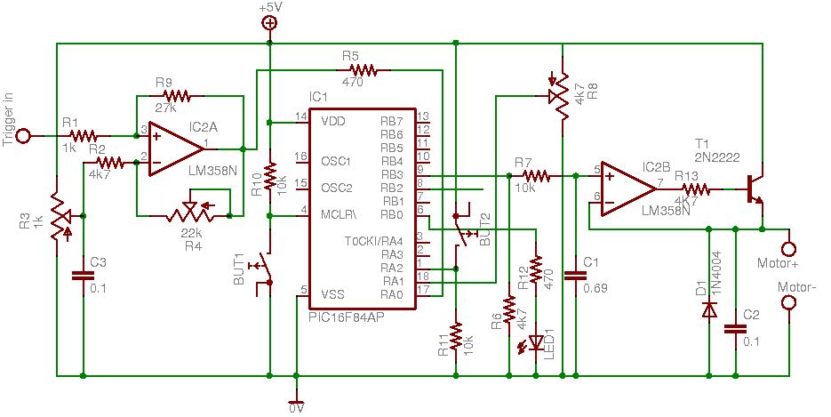 OptMon: Amplifier (429K) - Closer (224K) - Side (365K) TTL Trigger ...